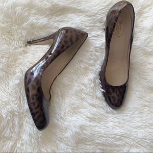 🐆 Browns Couture leopard print heels